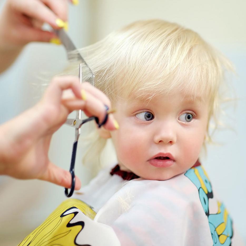 Фото детских стрижек от года