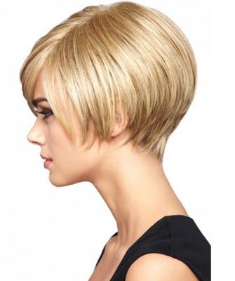 Прически с короткими волосами женские