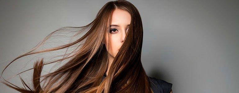 волос в салоне